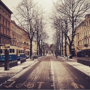 Gotemburgo no Inverno